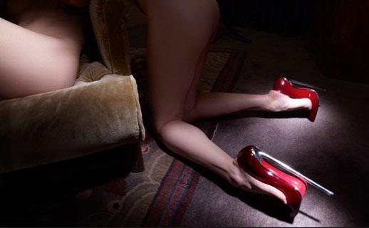 Foot & heel fetish. Louboutins