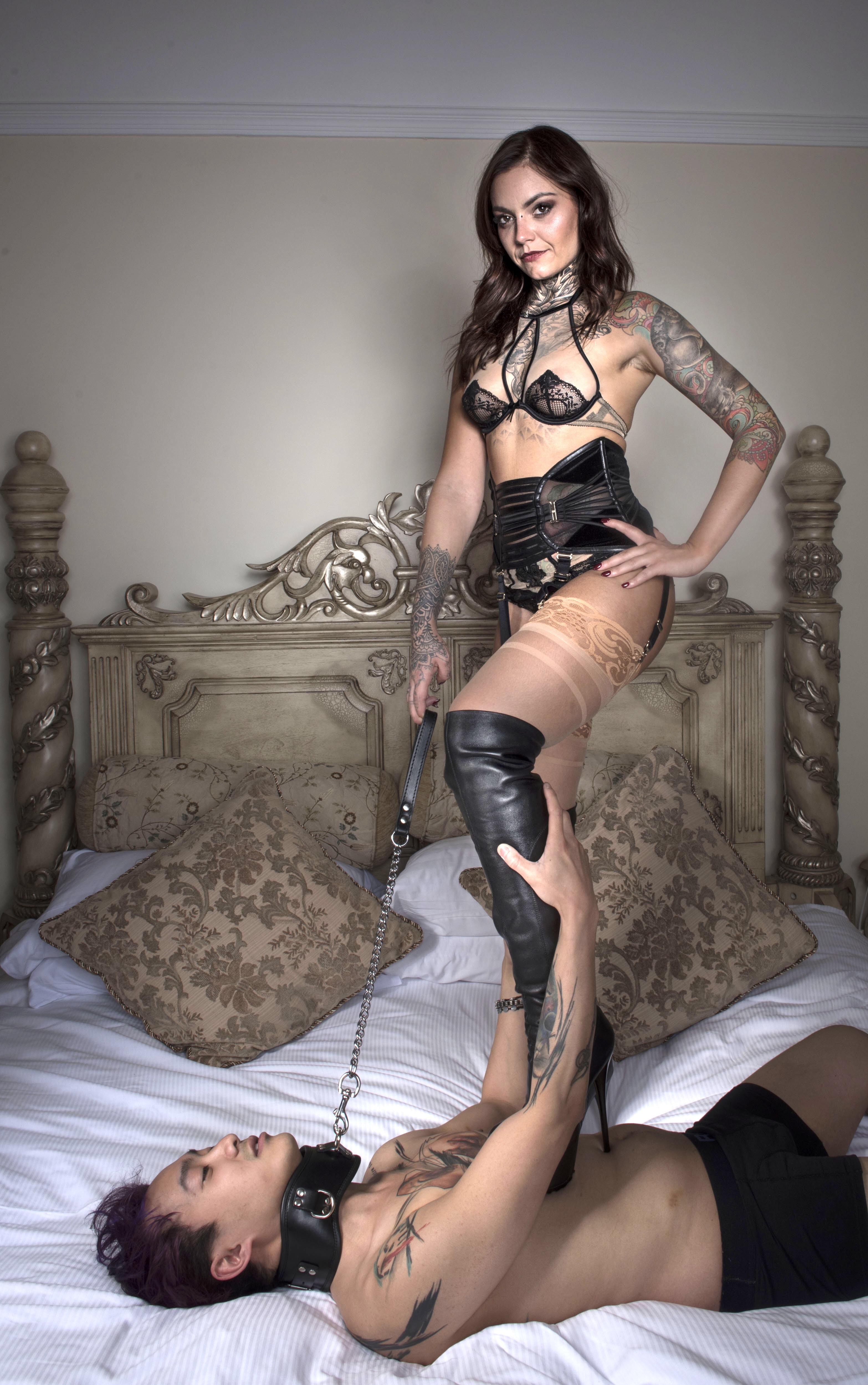 mistress nikky french nylons bristol
